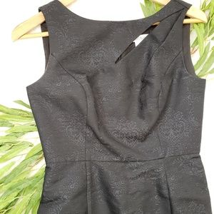 WHBM LBD Black Cocktail Dress